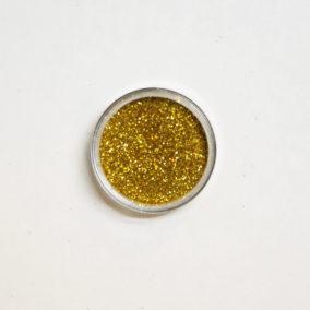 Gouden glitters - 6 gram