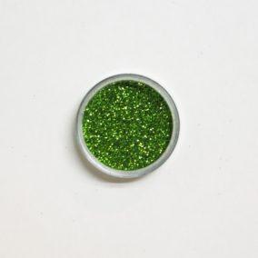 Glitters lichtgroen potjes 6 gram